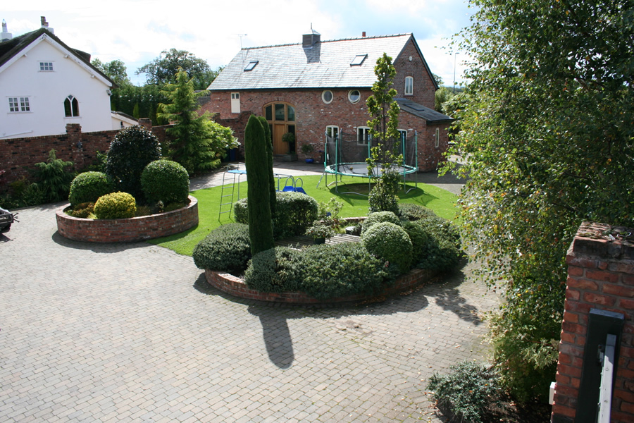 Ash services tree surgery and landscaping wirral chester for Garden conversion